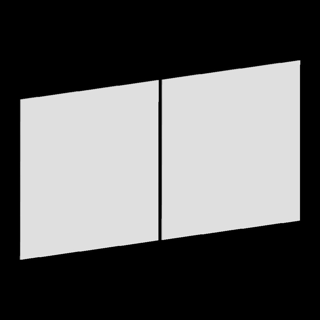 Forme du portail battant A