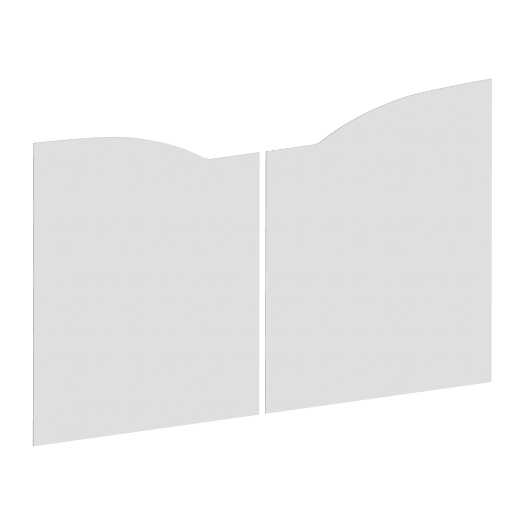 Forme du portail battant E