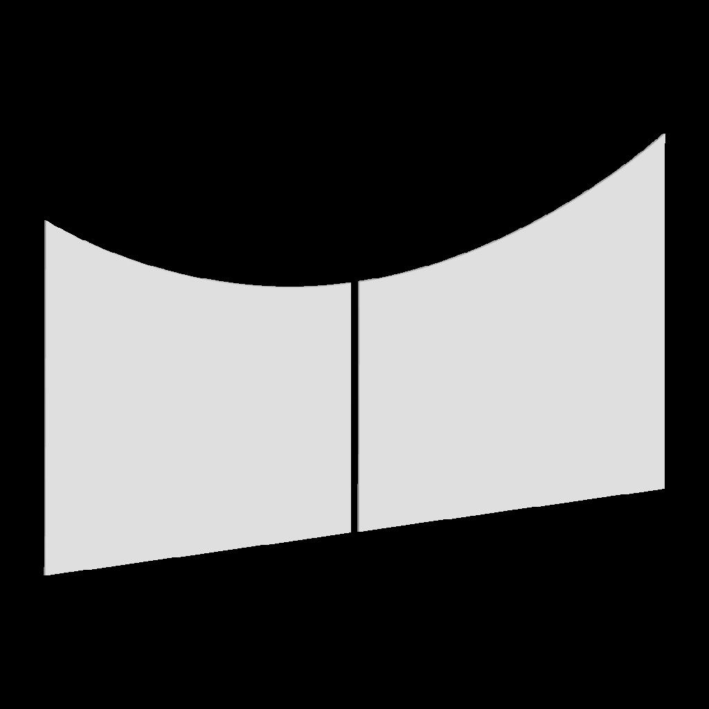 Forme du portail battant G