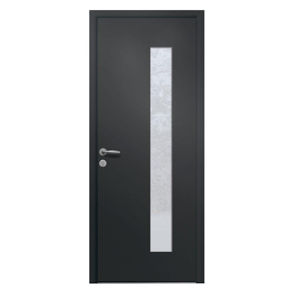 porte d'entrée alu monobloc modèle passo